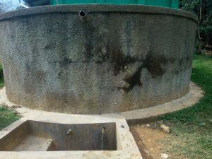 The Water Project:  Water Tank A Year Later