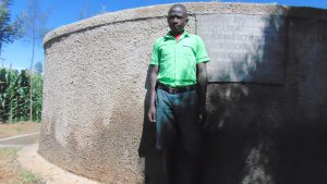 The Water Project:  Victor Oluwichi A Student At Emusoma Primary School