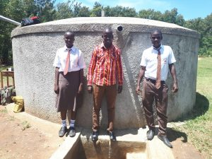 The Water Project:  Field Officer Jonathan Mutai And Joshua Wambire