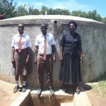 The Water Project: Shiyabo Secondary School -  Joshua Wambire With Principal Joyce Kisali