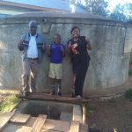 The Water Project: Iyenga Primary School -  Headteacher Christopher Birgen Zebedee Alubitsia And Field Officer Jacklyne Chelagat