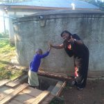 The Water Project: Iyenga Primary School -  High Fives For Safe Water
