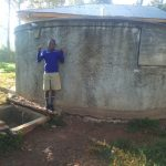 The Water Project: Iyenga Primary School -  Zebedee Alubitsia