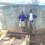 The Water Project: Iyenga Primary School -  Zebedee Alubitsia And Headteacher Christopher Birgen