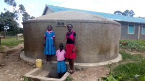The Water Project:  Brevisious Lugadilo Diana Mukhono And Sheila Msilivi