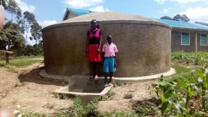 The Water Project:  Sheila Msilivi With Brevisious Lugadilo