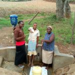 The Water Project: Shitoto Community A -  Thumbs Up For Reliable Water