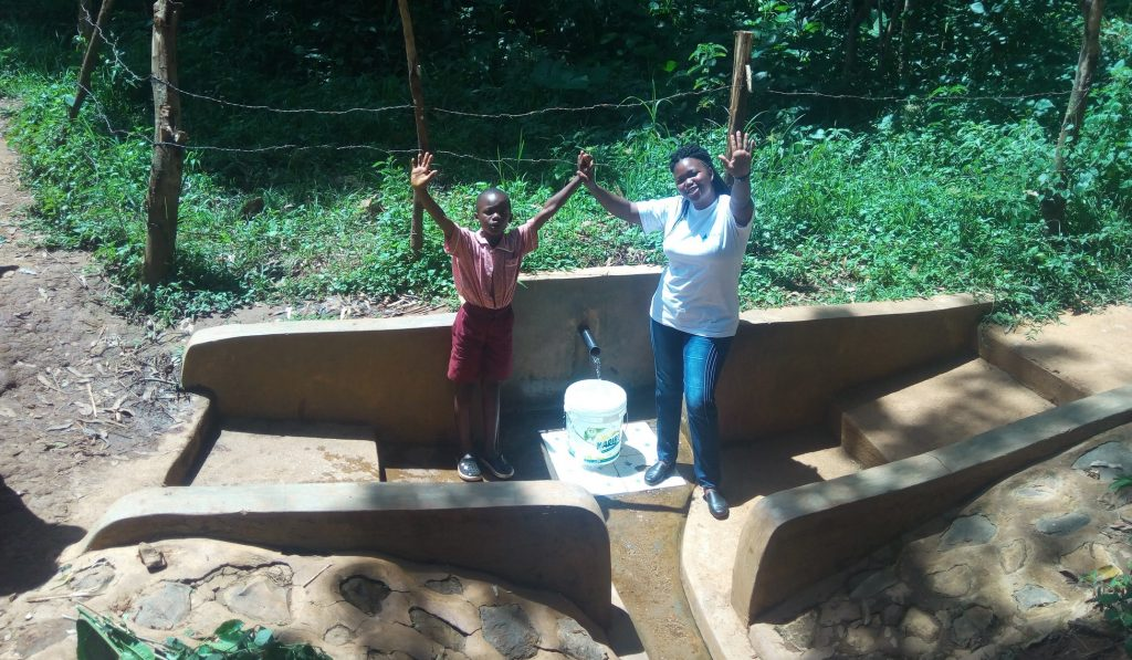 The Water Project : kenya4744-briavin-mumala-and-jacklyne-chelagat