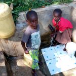 The Water Project: Shitoto Community, Laurence Spring -  Children Fetching Water