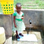 The Water Project: Futsi Fuvili Community, Shikanga Spring -  Young Girl At The Spring