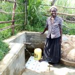 The Water Project: Futsi Fuvili Community, Patrick Munyalo Spring -  Naomi Osula