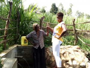 The Water Project:  Naomi Osula And Field Officer Jemmimah Khasoha
