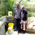 The Water Project: Futsi Fuvili Community, Patrick Munyalo Spring -  Smiles For Safe Water From Naomi Osula And Stella Anne