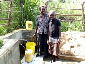 The Water Project:  Smiles For Safe Water From Naomi Osula And Stella Anne