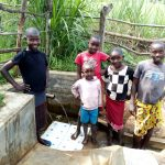 The Water Project: Futsi Fuvili Community, Patrick Munyalo Spring -  Stella Anne And Her Friends At The Spring