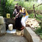 The Water Project: Futsi Fuvili Community, Patrick Munyalo Spring -  This Way To Reliable Water