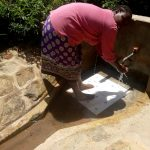 The Water Project: Kakubudu Community, Fred Lagueni Spring -  Agripinna Livivi