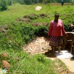 The Water Project: Kakubudu Community -  Agripinna Livivi And Field Officer Olivia Bomji