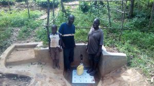 The Water Project:  Clarence Akanga And Shadrack Mwochi