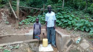 The Water Project:  Herman Kaongeli With Maximila Nekesa