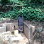 The Water Project: Elunyu Community, Saina Spring -  Maximila Nekesa