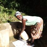 The Water Project: Emusanda Community A -  Angelina Omumia