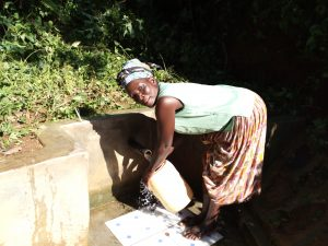 The Water Project:  Angelina Omumia