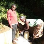 The Water Project: Emusanda Community A -  Clare Musilivi And Angelina Omumia