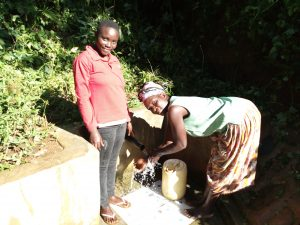 The Water Project:  Clare Musilivi And Angelina Omumia