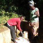 The Water Project: Emusanda Community A -  Reliable Water