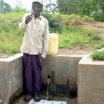 The Water Project: Shikoti Community, Amboka Spring -  Bassiliano Amboka