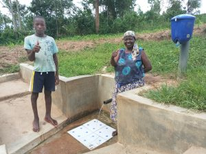 The Water Project:  Bonface Ouko And Rose Atira