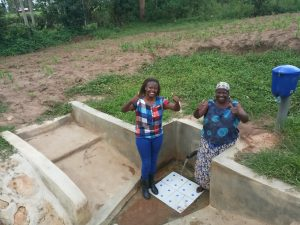 The Water Project:  Field Officer Faith Muthama And Rose Atira