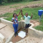 The Water Project: Mulundu Community -  Field Officer Faith Muthama And Bonface Ouko