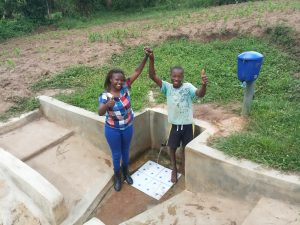 The Water Project:  Field Officer Faith Muthama And Bonface Ouko
