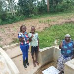 The Water Project: Mulundu Community -  Thumbs Up For Reliable Water