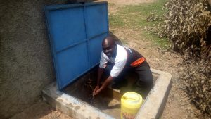 The Water Project:  Headteacher Bernard Madafu