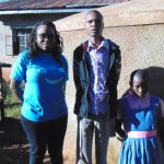 The Water Project: Mudete Primary School -  Field Officer Christine Luvandwa Robert Amiani And Shazleen Kahetza