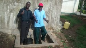 The Water Project:  Erick Wagaka And Andrew Ateko