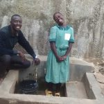 The Water Project: Ebusiratsi Special Primary School -  Field Officer Erick Wagaka And Lilian Migale