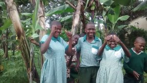The Water Project:  Students At The School Farm