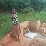 The Water Project: Mtao Community, Tifina Odari Spring -  Mitchell Lumbasi