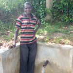 The Water Project: Luyeshe Community, Simwa Spring -  Simion Simwa