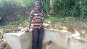 The Water Project:  Simion Simwa