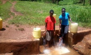 The Water Project:  Beverlyne Akadanya And Field Officer Lillian Achieng