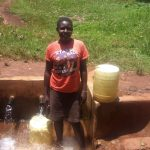 The Water Project: Mudete Community -  Catherine Egehiza