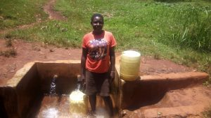 The Water Project:  Catherine Egehiza