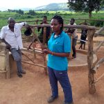 The Water Project: Rubani-Kyawalayi Community -  Field Officer Chatting With The Community Members