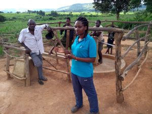 The Water Project:  Field Officer Chatting With The Community Members