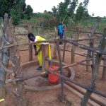 The Water Project: Rwentale-Kyamugenyi Community -  Fetching Water